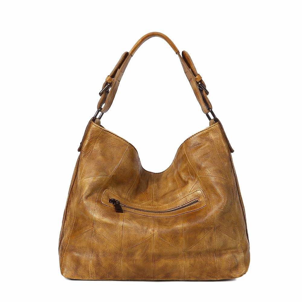 Bags For Women    Genuine Leather Luxury Handbags Designer Hobos Messenger Bags Office Shoulder Bag