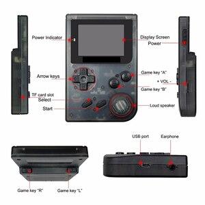 Image 4 - Coolbaby consola de juegos Retro portátil de 32 bits, Mini consola de juegos portátil con 169 juegos clásicos de GBA, juguete para niños