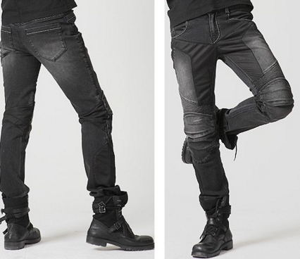 With Proctions! UGLYBROS Motorcycle Mesh Jeans in Summer Motorcycle Hockey Pants Ride Jeans Black lole брюки ssl0009 lively pants 35 in xs black