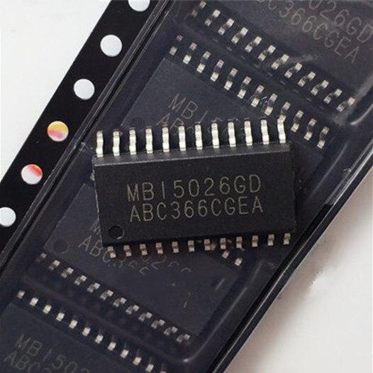 Free shipping 100PCS 100 NEW ORIGINAL MBI5026GD MBI5026 SOP24 1 27MM