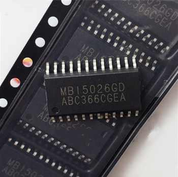 Free shipping 100PCS 100% NEW ORIGINAL MBI5026GD MBI5026 SOP24 1.27MM - SALE ITEM Electronic Components & Supplies
