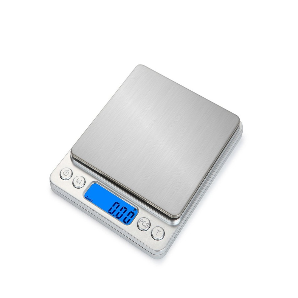HT-I200 1000g x 0.1g Portatile In Acciaio Inox Elettronica LCD diaplay Cibo Bilancia s Cucina del Peso Dei Monili Digitale Bilancia
