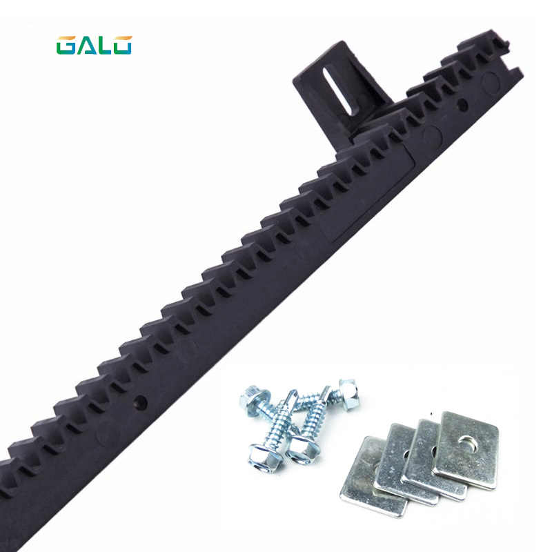 GALO nylon gear rack rail for auto sliding gate opener 1 m per pc 1 order
