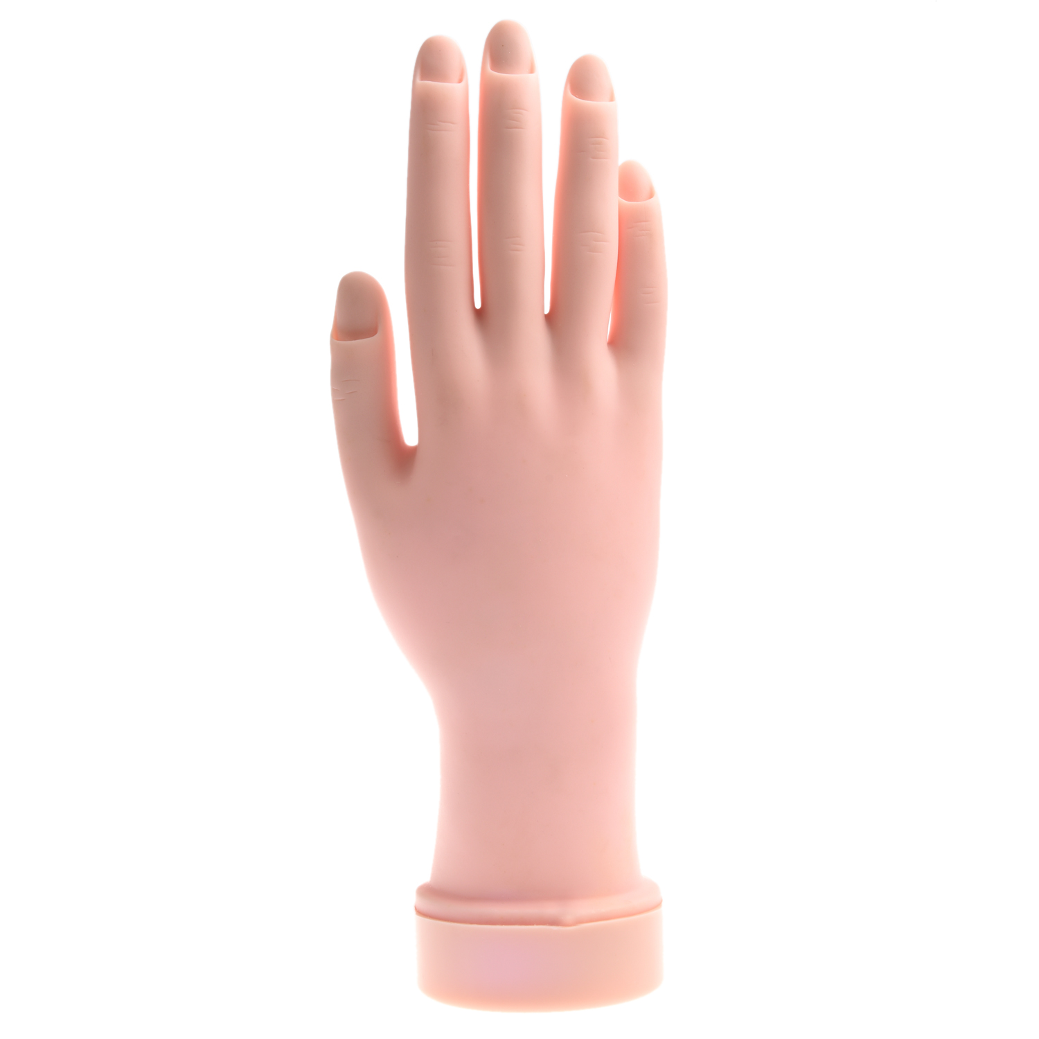 Aliexpress Buy Movable Soft Practice Hand For Nail