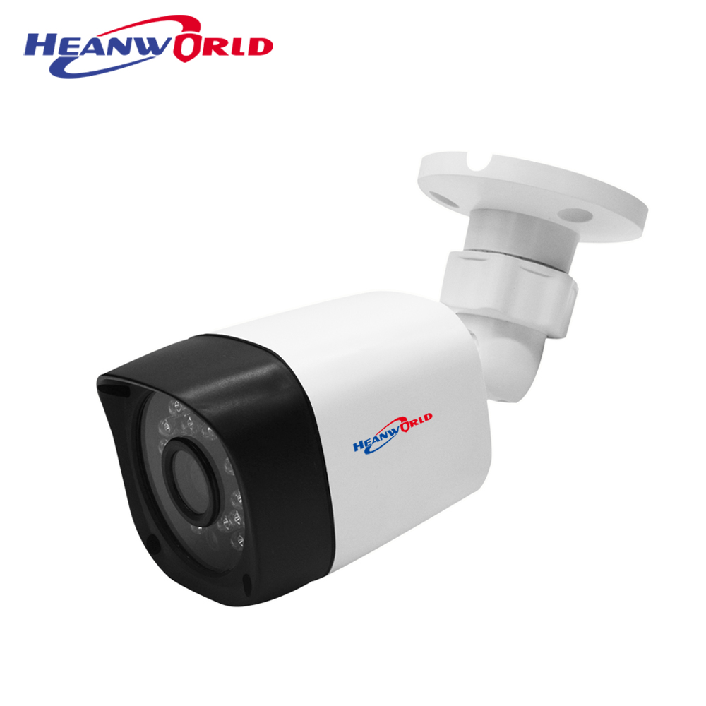 Heanworld mini CCTV camera outdoor 1080P security camera HD AHD camera 2.0MP IR night vision surveillance camera 2.8mm lens
