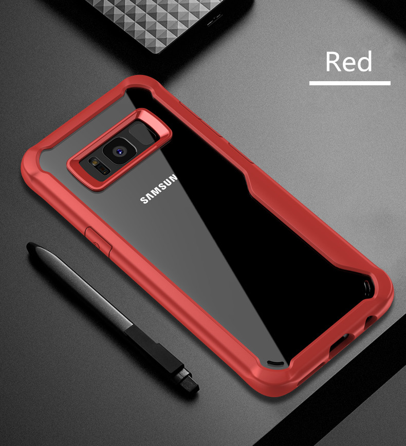 LUPHIE Shockproof Case for Samsung Galaxy S9 S8 Plus Note 8 A8 A6 Plus 2018  (15)