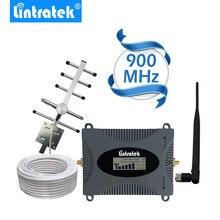 Lintratek мощный GSM репитер 900 мГц ЖК-дисплей Дисплей gsm Сотовая связь усилитель сигнала UMTS 900 мГц мини телефон Усилители домашние Обновление