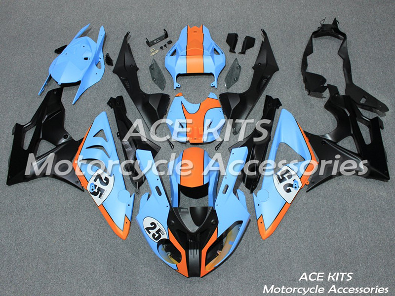New ABS motorcycle Fairing For BMW S1000RR 2009 2010 2011 2012 2013 2014 Injection Bodywor All sorts of color No.394
