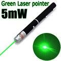 Высокое Качество Зеленая Лазерная Указка 5 МВт Мощный 500 М Лазерная Ручка Профессиональный Lazer указатель С 2 * AAA Батареи для Обучения palying