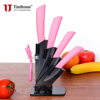 Ceramic Knife Set 3 4 5 6 Inch Black Blade Different Colors Available Paring Knives Set