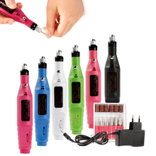Nail Drill Bits Electric Art File Manicure Milling Machine Set Cutters for Pedicure Tools Apparatus
