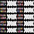 OPHIR 20 Шт./лот Ногтей Трафареты 200 Конструкций Аэрография Шаблон для Аэрограф Комплект Для Ногтей Краска Штамповка _ JFH3