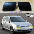 2 Pcs/Pair RH and LH Front bumper spray cover cap for VW Volkswagen Golf 4 IV Mk4 1998-2006