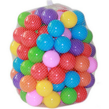 30pcs lot Eco Friendly Colorful Soft Plastic Water Pool Ocean Wave Ball Baby Funny Toys Stress