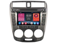 Android 6 0 CAR Audio DVD Player FOR HONDA CITY 2008 2012 Gps Car Multimedia Head