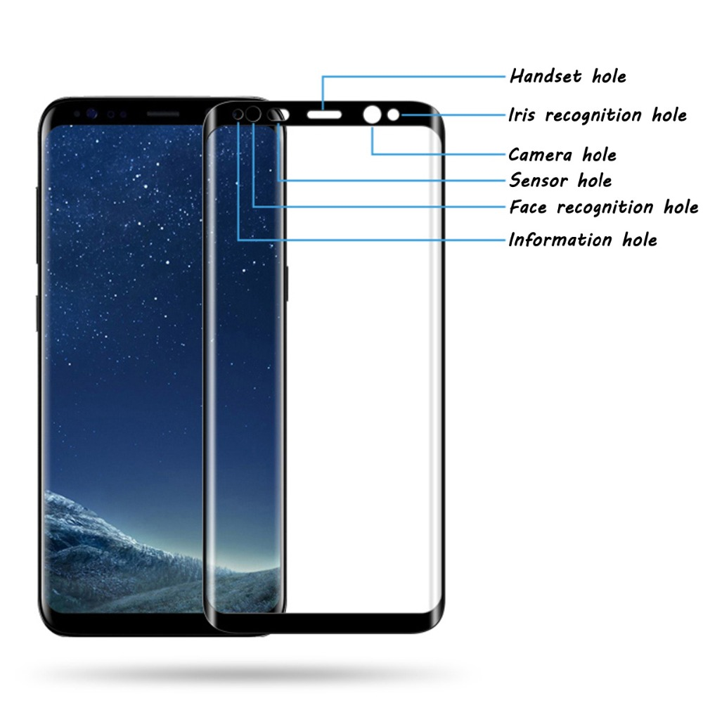 S8 Glas Us 2 72 30 Off S8 Glas For Samsung Galaxy 8 Plus Covers 9h 3d Full Screen Protector Tempered Glass On Samsung Galaxy S8 S 8 Plus S8 Film Case In