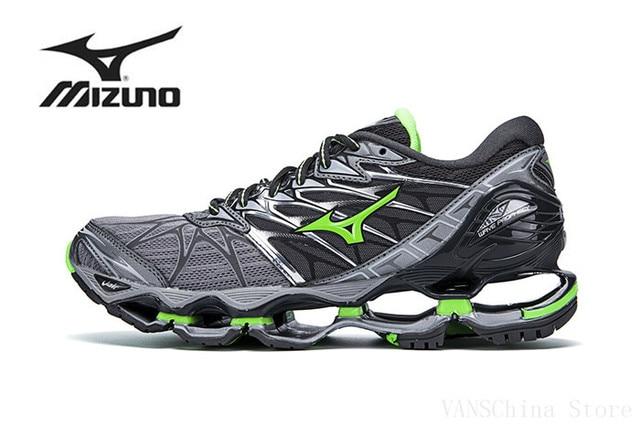 Mizuno Wave Profecia 7 Profissionais Homens esportes Sapatos de corrida venda quente tenis mizuno Sapatos De Halterofilismo Esportes ao ar livre Estável Tamanho 40- 45