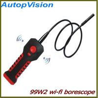 HD 1280*720P 8.5mm WiFi Endoscope Borescope Inspection Camera DVR W/ 6pcs LED Support IOS Andriod and Windows System