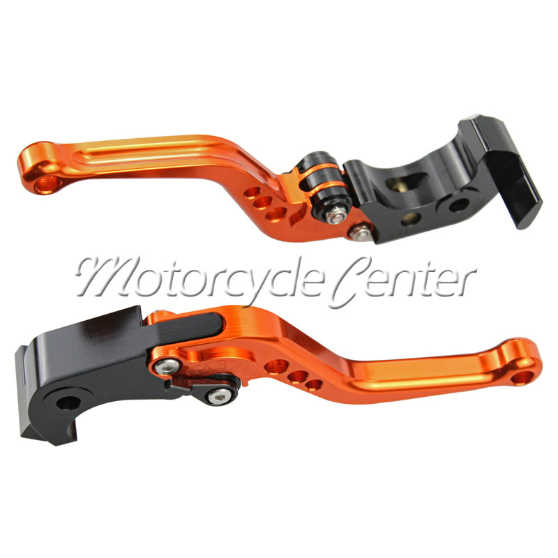 Motorcycle Accessories CNC Short Brake Clutch Levers For Honda CB400SF CB919 CB600 CBR 600 F2 F3 F4 F4i CB400 CB 400 919 Orange