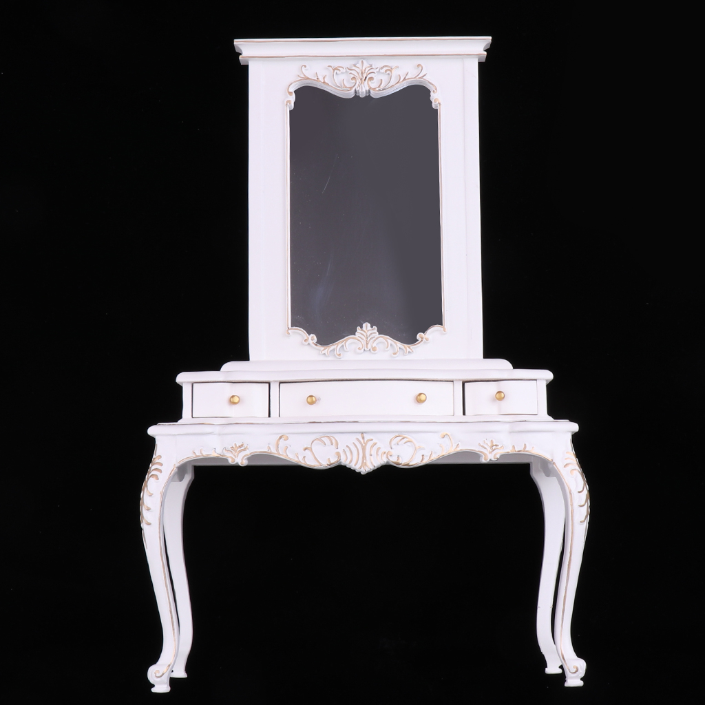 European Style 1/6 Dresser Drawer Cabinet for Barbie Hot Toys Figures Bedroom Furniture Accessories