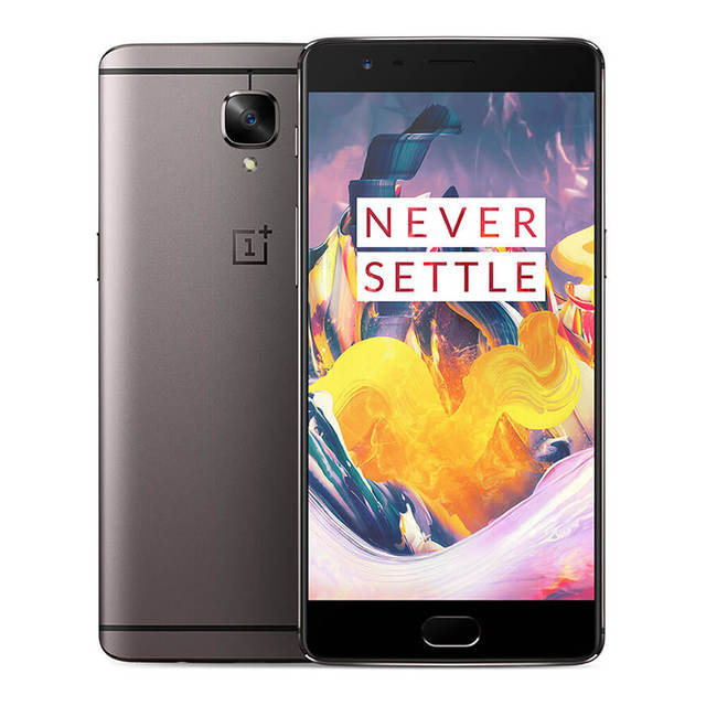 "Original OnePlus 3T A3003 6GB RAM 64GB ROM Snapdragon 821 Quad Core Smartphone 1920*1080p 5.5"" 16.0MP Touch ID NFC Mobile Phone"
