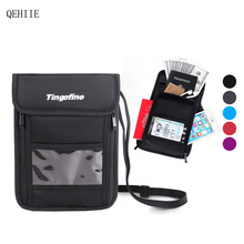 QEHIIE Fashion Travel Passport Cases Bolsa de viaje antirrobo multifunción Travel Organizer Essential Travel Accessories