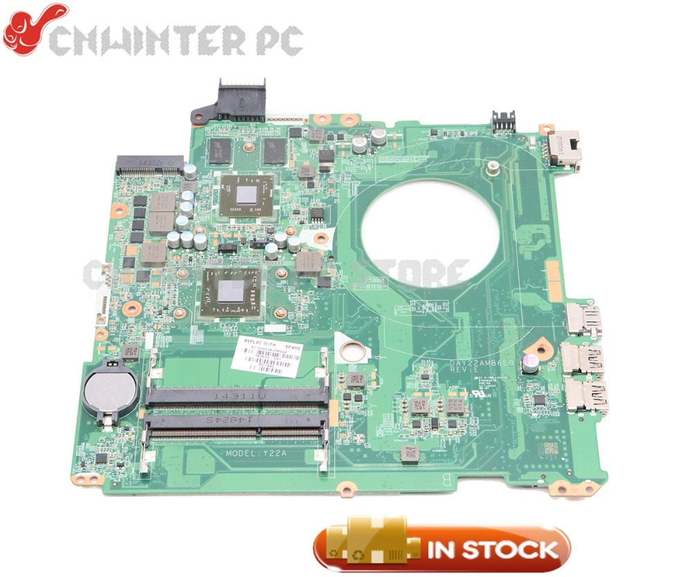 NOKOTION 762531-001 762531-501 For HP Pavilion 15-P Series Laptop Motherboard DAY22AMB6E0 REV:E A8-6410 CPU 2GB GPU original 762531 501 for hp pavilion 15 p series laptop motherboard day22amb6e0 rev e a8 6410 2g 100