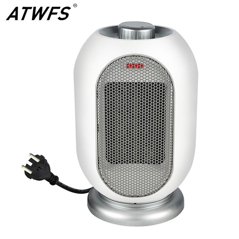 ATWFS домашний обогреватель с вентилятором Портативный Handy эко Вт ручной комнатный открытый пространство PTC Теплее Электрический термостат н...