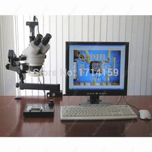 Best Buy Industrial Inspection -AmScope Supplies 3.5X-90X Articulating Stereo Microscope w 80-LED Light + 3MP USB Digital Camera