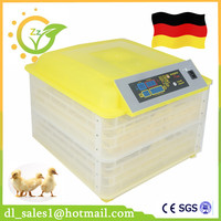 Home Use 96 Automatic Eggs Incubator Digital Temperature Control Tuning For Chicken Duck