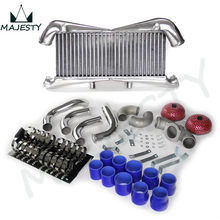 Aluminum Intercooler Kit for 300ZX Twin Turbo Fairlady Z32 VG30DETT brand new blue