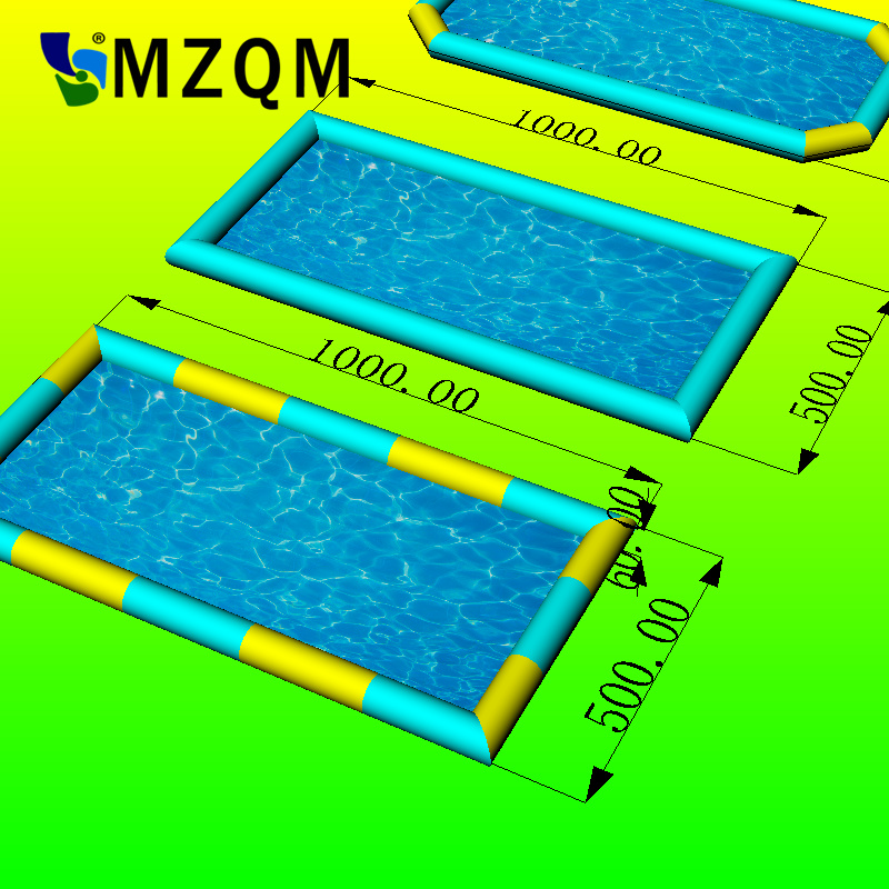 MZQM 10x5m 0.6 MM PVC tarpaulin large inflatable pool inflatable swimming pool inflatable toys pool thicker version deluxe edition 2 meters large family luxury inflatable swimming pool game pool children s play pool