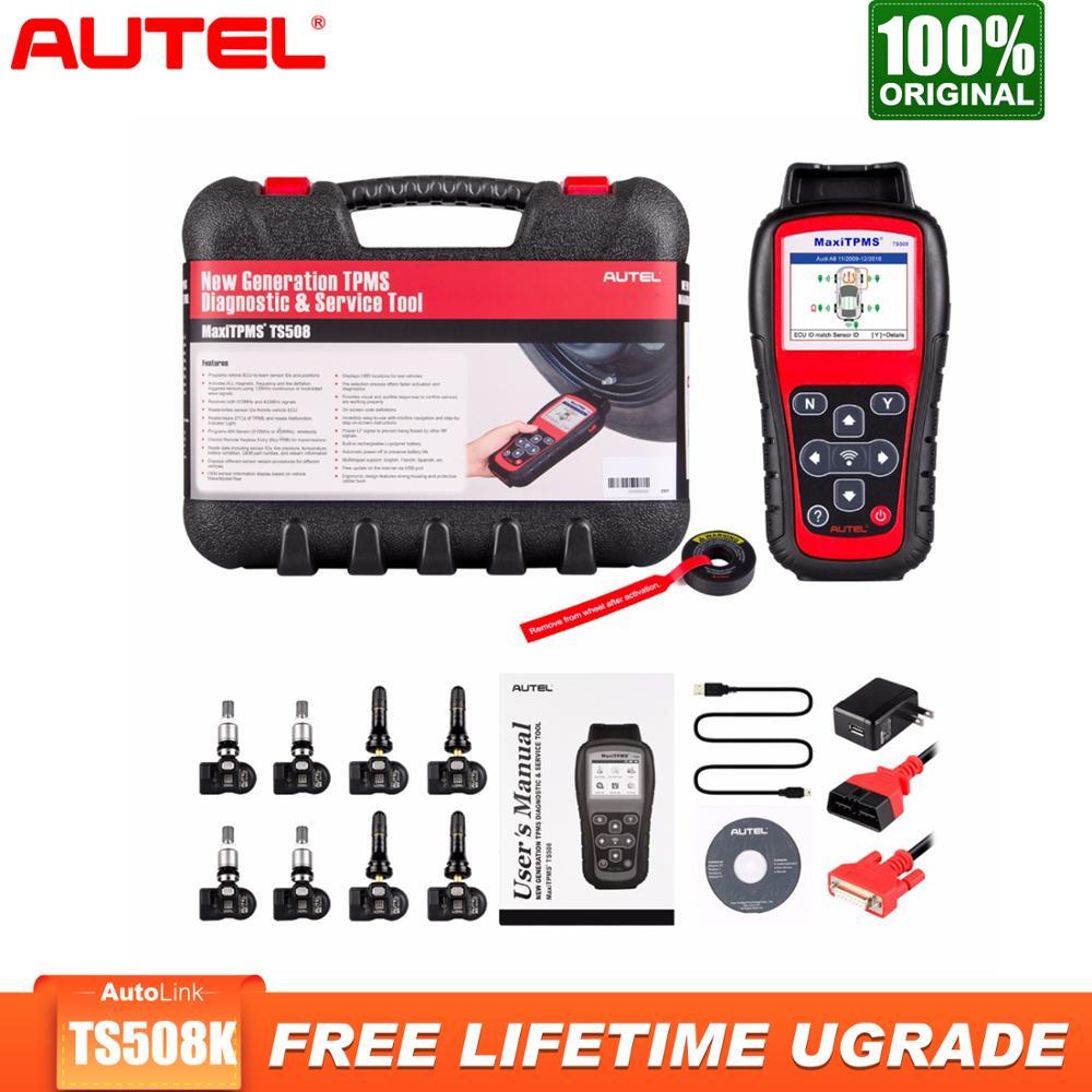 Autel MaxiTPMS TS508k TPMS Car Diagnostic Tool Check TPMS System Health Condition Program MX sensors and