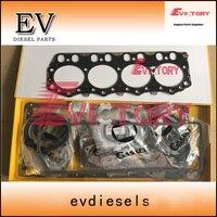 Для компании caterpillar электронным впрыском 320D экскаватор C4.2 Полный Прокладка Головки Блока Цилиндров Комплект