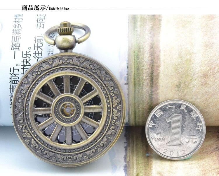 Roda de Bronze do Estilo romano Retro