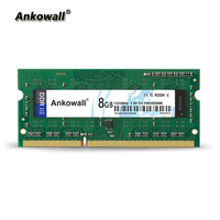 Ankowall DDR3 SO DIMM 8GB RAM 1333/1600 MHz Notebook Memory PC3 10600/12800 Laptop RAM