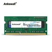 Ankowall DDR3 SO DIMM 8GB RAM 1333/1600 MHz Notebook Memory PC3 10600/12800 Laptop RAM