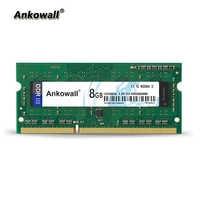 Ankowall DDR3 SO-DIMM 8GB RAM 1333/1600 MHz PC3-10600 mémoire pour ordinateur portable/12800 RAM pour ordinateur portable