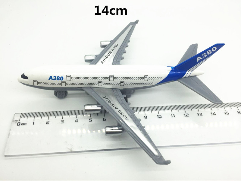 Aircraft-model-Alloy-materials-kids-toys-Airbus-A380-Boeing-777-2