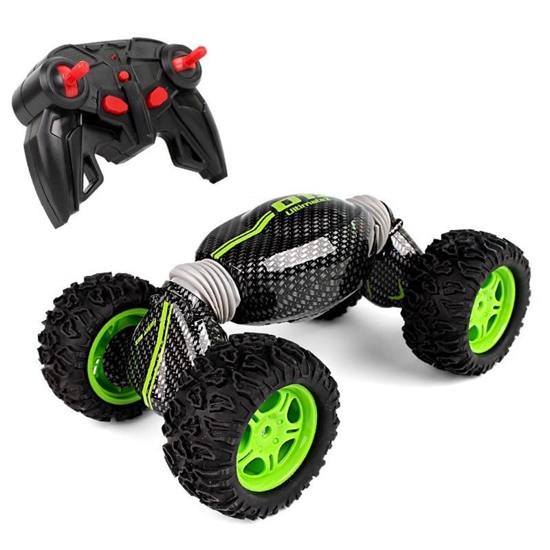 New Design RC Car 4WD 1:12 Creative Electric Buggy Car 2.4G One Key Transformation Stunt Car All-terrain Off-road Vehicle Toys