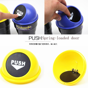 Household convenient mini car trash can for Toyota Camry Corolla RAV4 Yaris Highlander/Land Cruiser/PRADO Vios Vitz/Reiz image