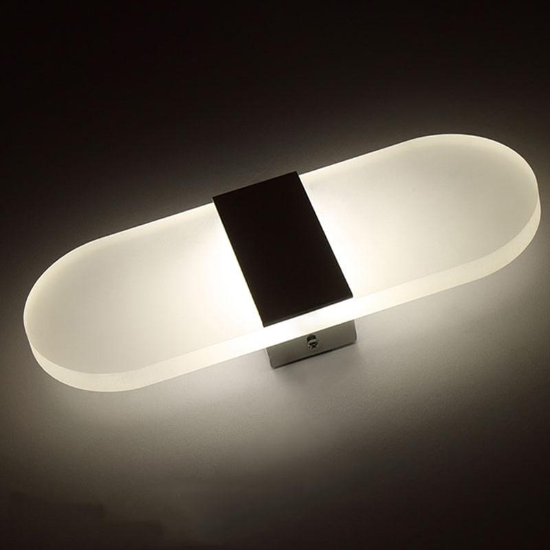 HTB1hcZDQVXXXXa7XXXXq6xXFXXXT - Acrylic LED Wall lamp 3W 5W 6W Modern Bedroom Bedside decoration wall sconces light for home stairs loft LED light indoor decor