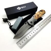 X50 Survival Folding Knife Camping Tactical Hunting Combat Pocket Knives Rescue EDC Multi Tools Titanium Coating