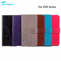 Fcqoue Lucky grass Wallet Stand Flip Leather Phone Cases For ZTE A910 A610 L5Plus X4 Grand X4 case coque bag wallet flip cover