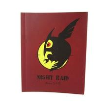 2014 NEW Free Shipping Akame ga KILL! Anime Cosplay Night Raid Tatsumi Jotter Accessories Notebook