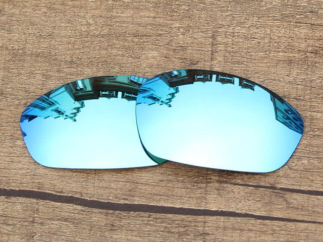 a501bcd6a1afe Ice Blue Mirror Polarized Replacement Lenses For Straight Jacket 2007  Sunglasses Frame 100% UVA   UVB Protection