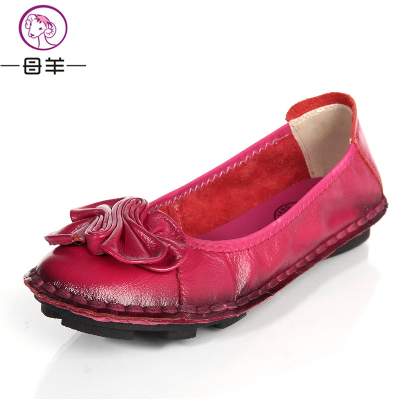 Aliexpress.com  Buy New Fashion Women FlatsWomen Genuine ...