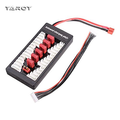 Tarot Para Board TL2715 Balance Parallel Charger Lipo Battery Charging Plate T Plug Pro Version For RC Camera Drone F18495 smart battery charger board plate outdoor charger