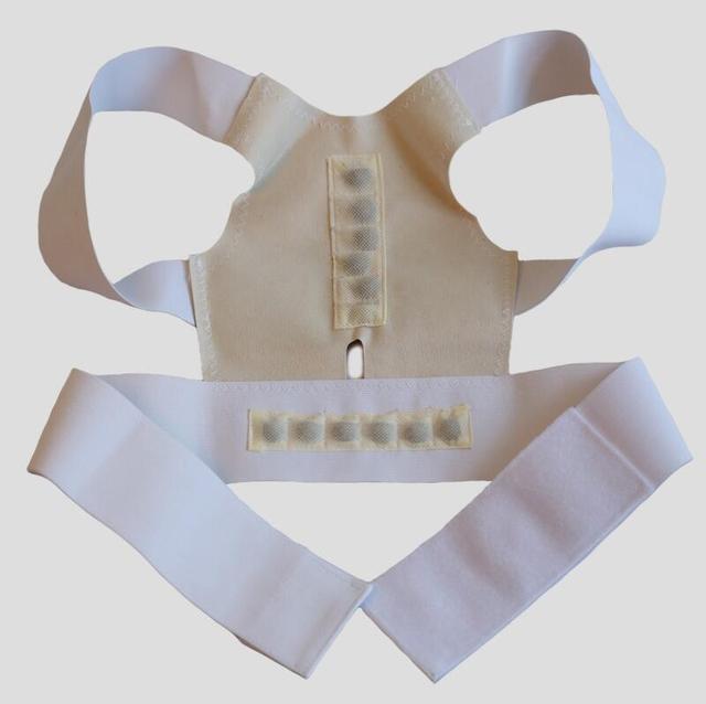 white Back support belt 5c64c1b379b51