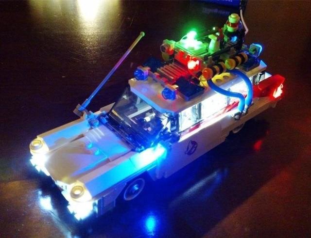 Ha condotto la luce up kit kit per lego lego 21108 ghostbusters ecto